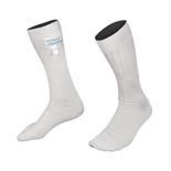 Chaussettes Alpinestars RACE blanches (approbation FIA)