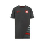 T-shirt enfant gris Haas F1 Team