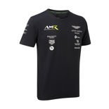 T-shirt homme Team bleu marine Aston Martin Racing