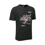 T-shirt hpmme Car noir Toyota Gazoo Racing WRT