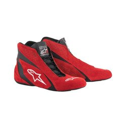 Chaussures Alpinestars SP MY18 rouges (approbation FIA)