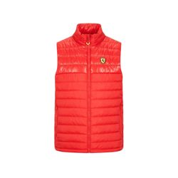 Gilet sans manches homme Padded rouge Ferrari F1 2020