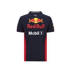 Polo enfant Team bleu marine Aston Martin Red Bull Racing 2020