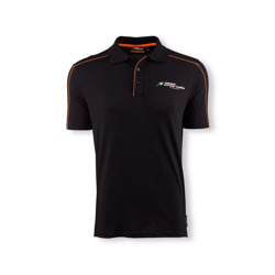 Polo homme Fan noir Sahara Force India F1 Fan Wear