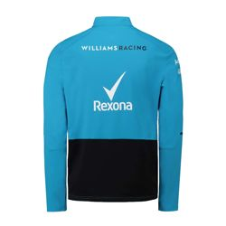 Sweat homme bleu Midlayer Williams Racing 2019
