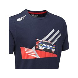 T-shirt homme Car bleu Ford Performance